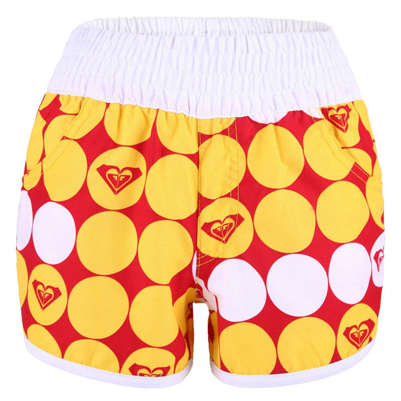 Women's Casual Colourful Shorts - Zorket