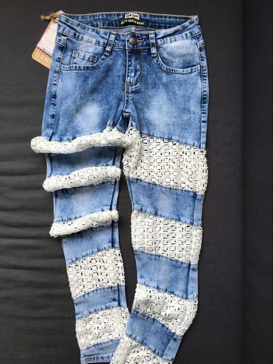 Women's Stylish Ripped Skinny Jeans