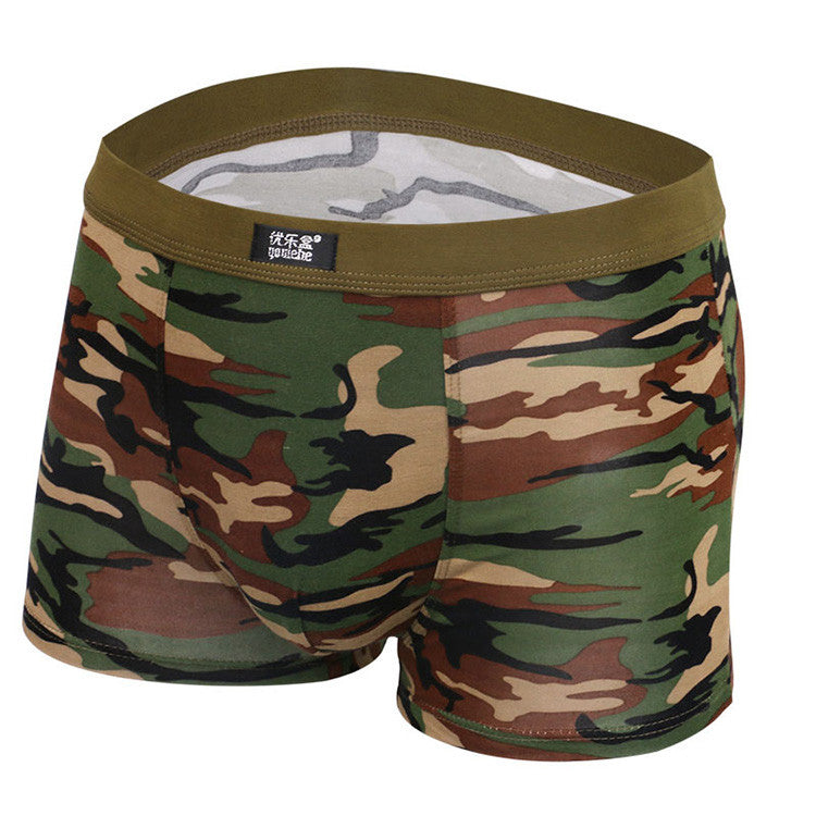 Boxer Shorts – Man's Camouflage Elastic Boxers | Zorket