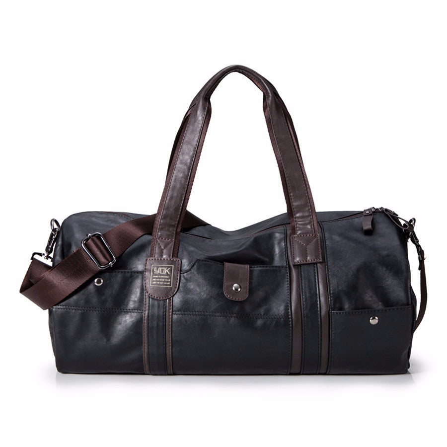 Travel Bag – Luxury Vintage PU Leather Business Travel Bag | Zorket