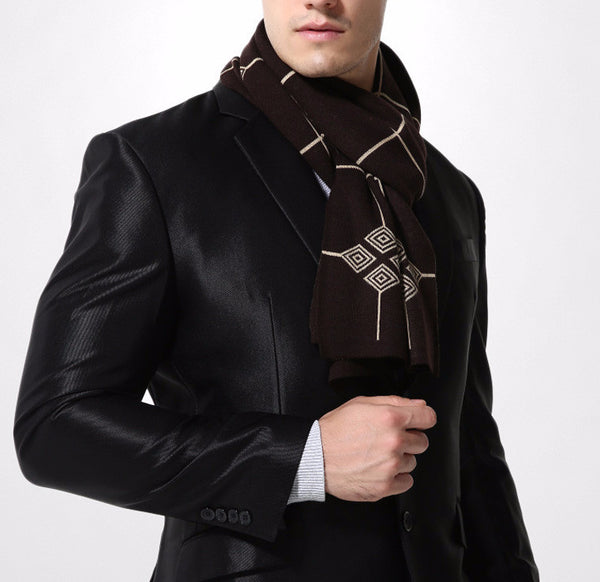 Scarf – Men Warm Brand Luxury Scarf | Zorket