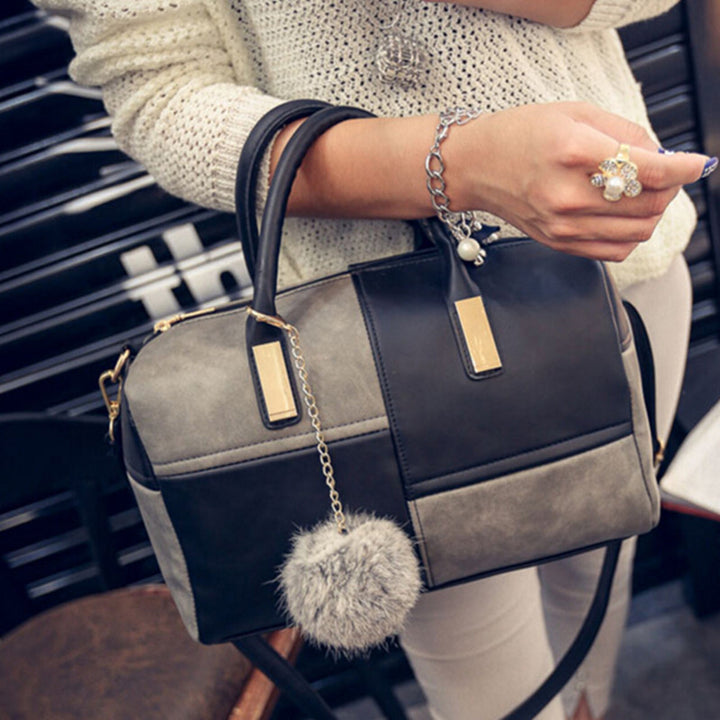 Women PU Leather High Quality Shoulder Bag - Zorket