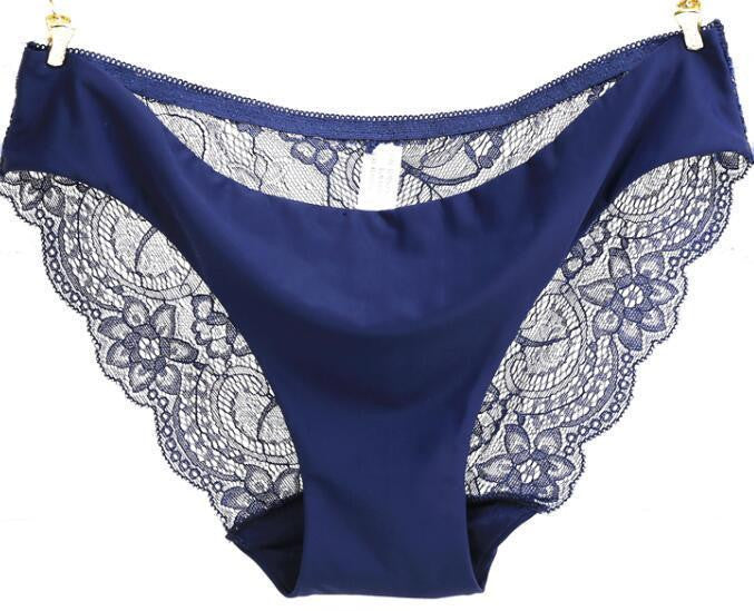 Women's Seamless Breathable Lace Briefs - Zorket