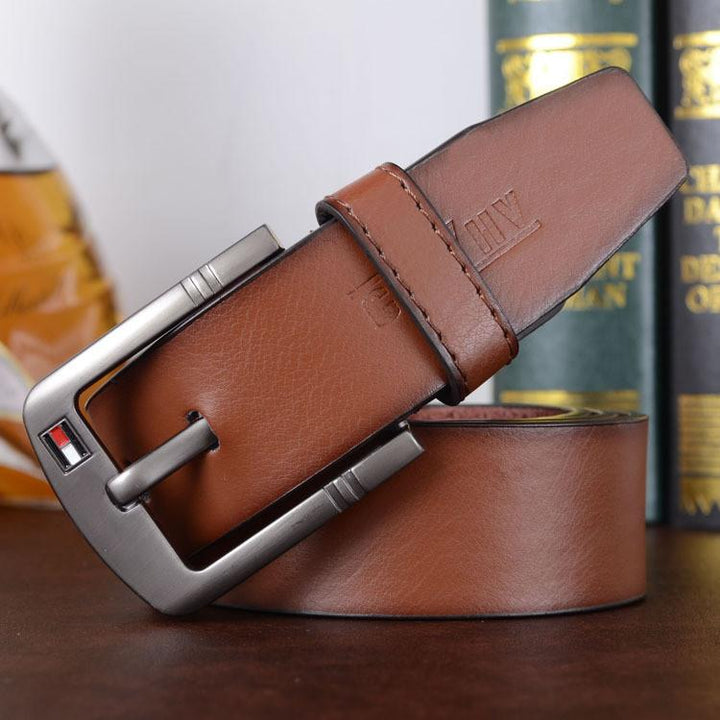 Leather Men's Casual Belt
