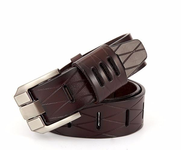 Genuine Leather Male Belt