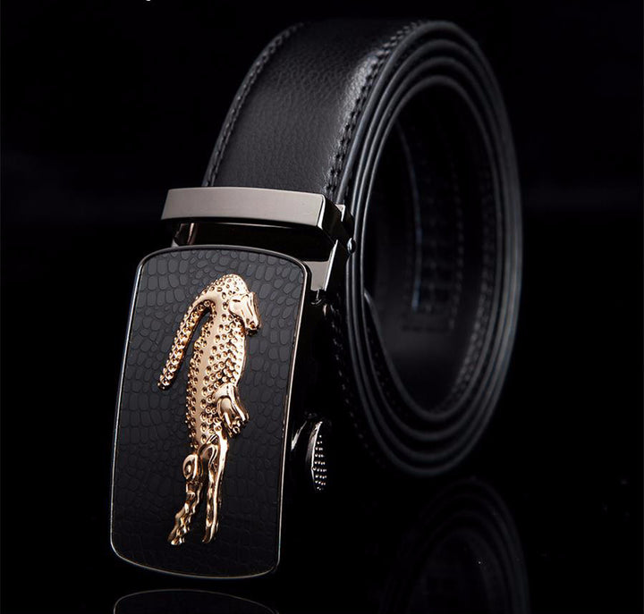 Belt – Fashionable Cowhide Leather Men's Belt | Zorket