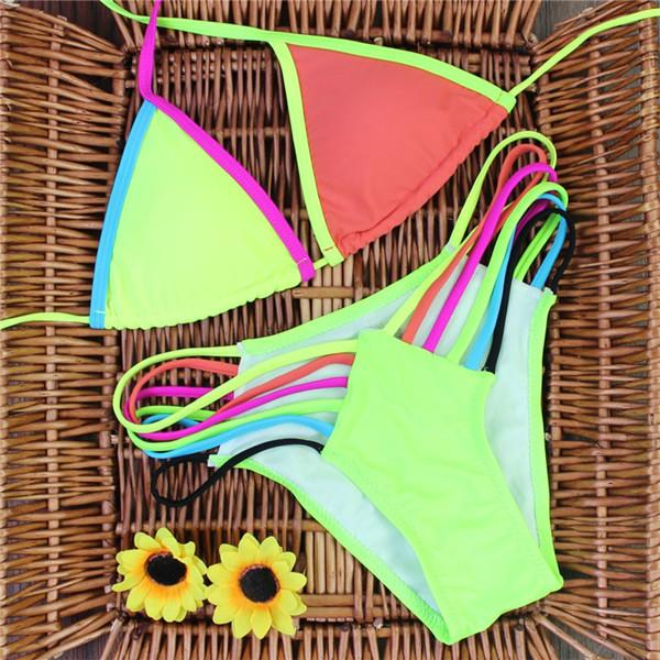 Summer Colored Women's Swimsuit