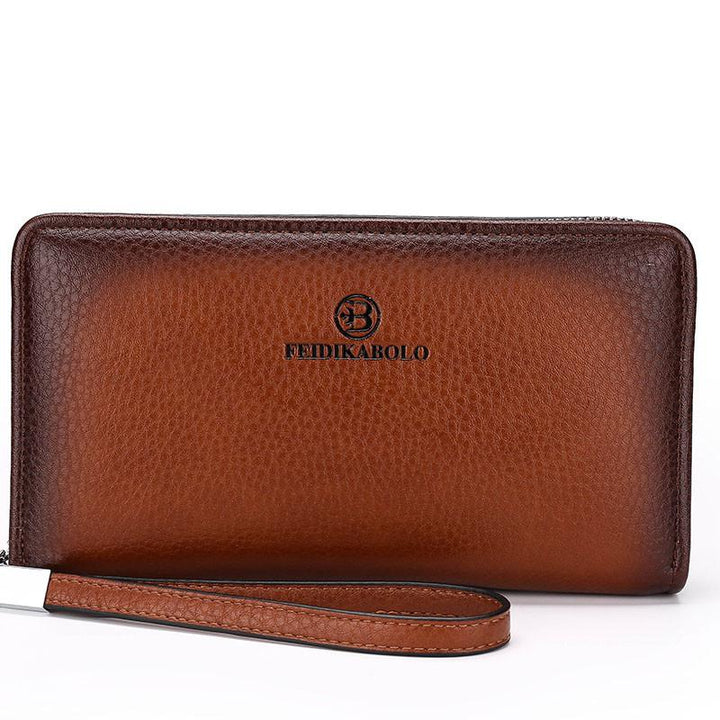 Male Fashionable Casual Leather Wallet