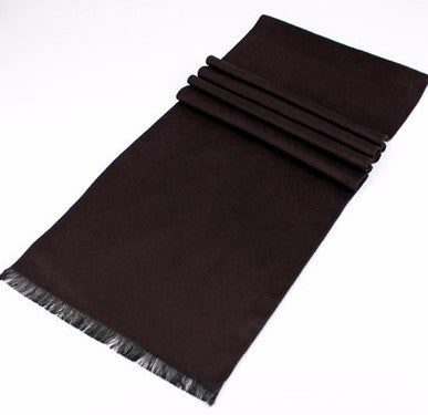 Scarf – Casual Long Solid Color Scarf For Men | Zorket