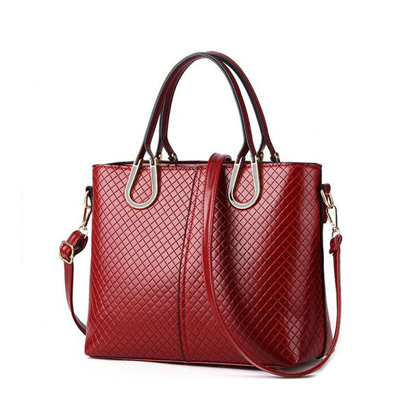 High Quality Women's Big Smooth Shoulder Bag - Zorket
