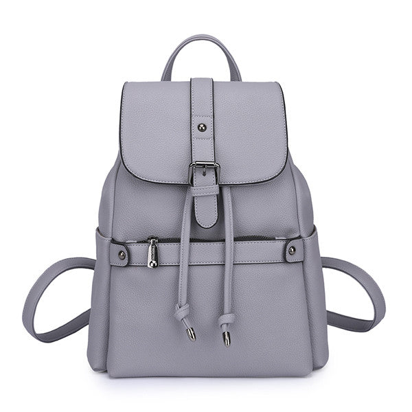 Women's Fashion PU Leather Backpack - Zorket