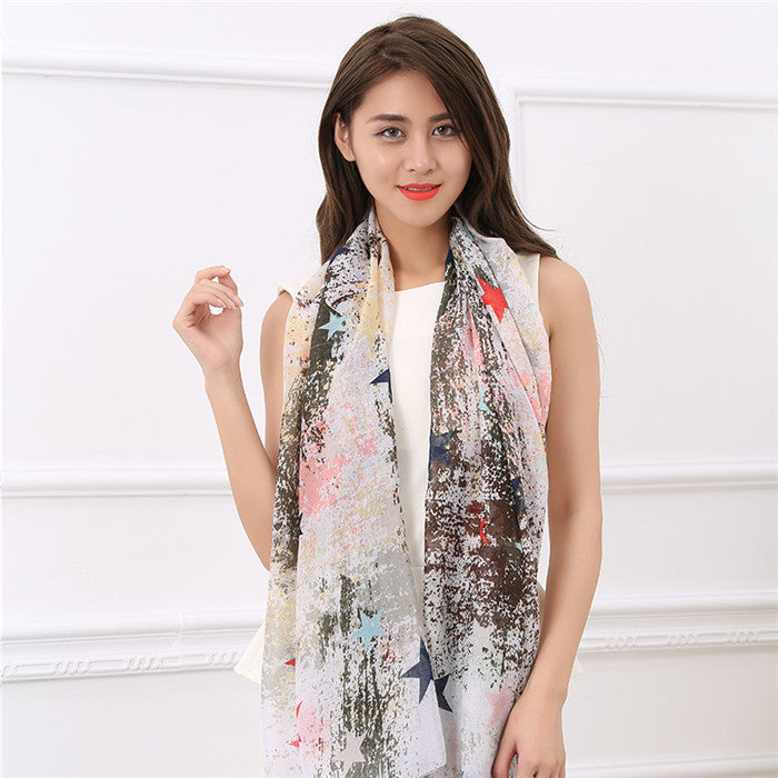 Cotton Ladies Soft Breathable Shawl - Zorket