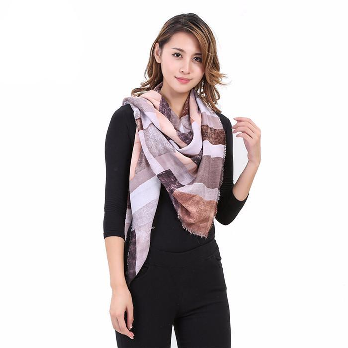 Winter Women's Square Cashmere Warm Soft Scarf