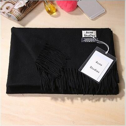Winter Scarf Female Acrylic Soft Warm Scarfs - Zorket
