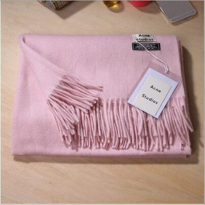Winter Scarf Female Acrylic Soft Warm Scarfs
