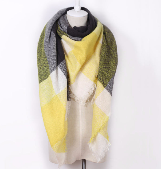 Women's Winter Warm Blanket Scarf - Zorket