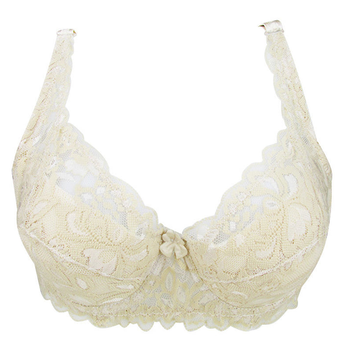 Female Comfortable Lace Push Up Bra - Zorket