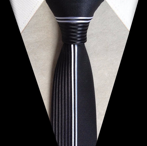 Tie – Men's Luxury Tie With Vertical Stripes | Zorket