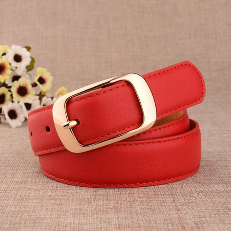 Cowskin Leather Fashion Belt for Women - Zorket