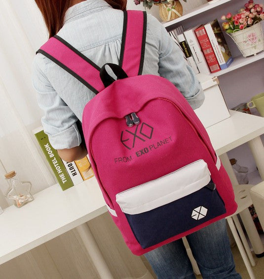 Women's Canvas Casual Backpack - Zorket