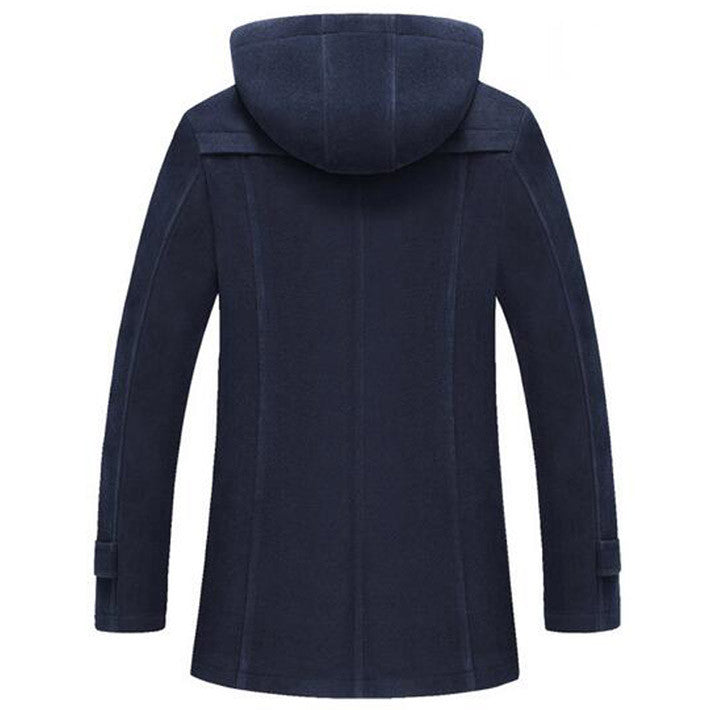 Men's Thick Warm Overcoat - Zorket