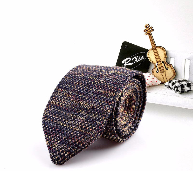 TIe – Fashionable Male Slim Knitted Necktie | Zorket