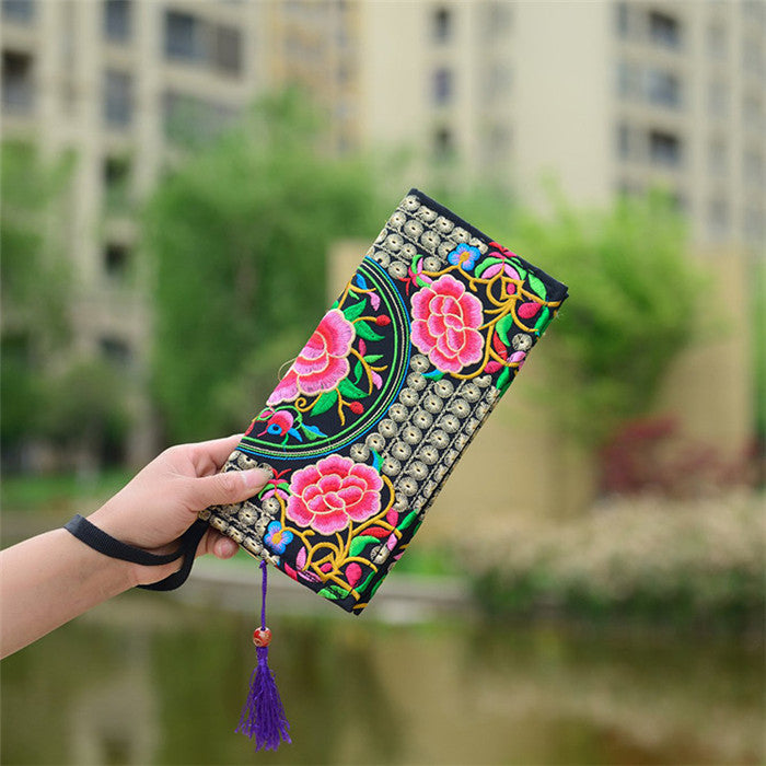 Women's Elegant Handmade Day Clutch - Zorket