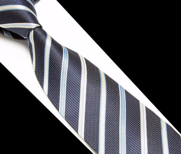 Tie – Men's Striped Soft Necktie | Zorket