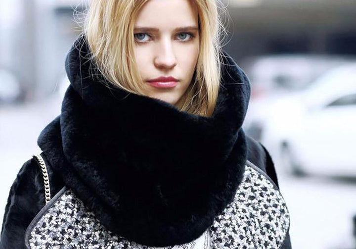 Faux Fur Scarf Collar