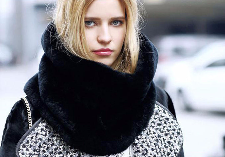 Ring Scarf – Good Quality Faux Fur Scarf Collar | Zorket