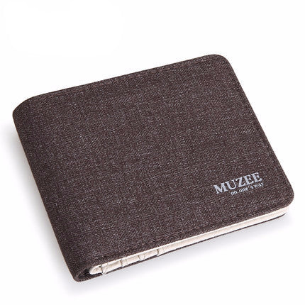 Retro Men's Canvas Wallet - Zorket