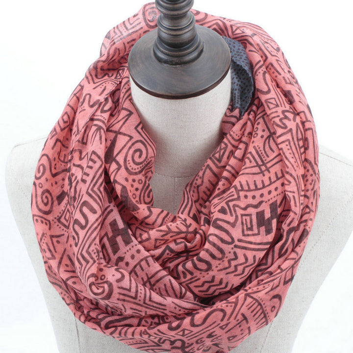 Women's Fashion Loop Infinity Scarf - Zorket