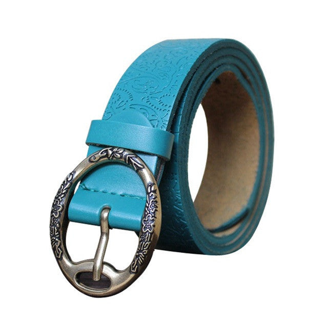 Summer High Quality Leather Belts For Women - Zorket