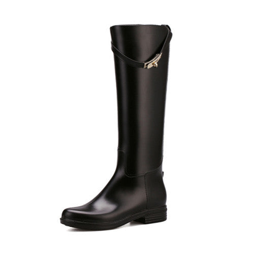 Spring And Autumn Fashion Rain Boots - Zorket