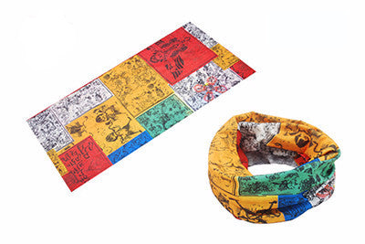 Colourful Sports Tube Scarf - Zorket