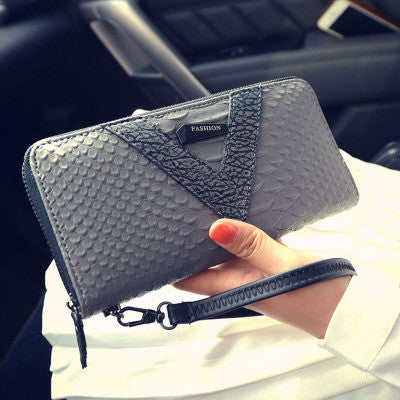 Wallet – Female Long Zipper Fashion Card Holder Wallet Purse | Zorket