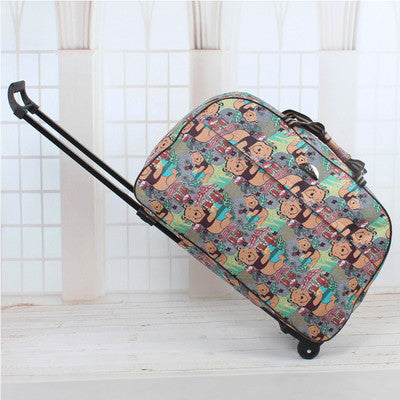 Wheel Women's Large Capacity Travel Bag - Zorket
