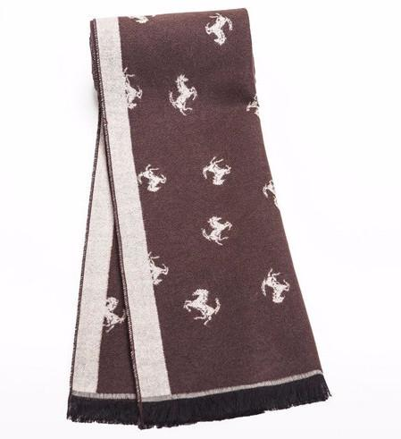 Stylish Men's Scarf With Pictures