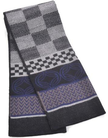 Scarf – Fashionable Mix Plaid Color Scarf For Men | Zorket