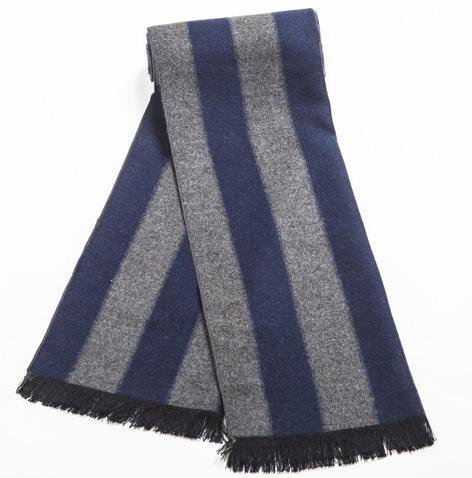 Warm Striped Scarf For Men