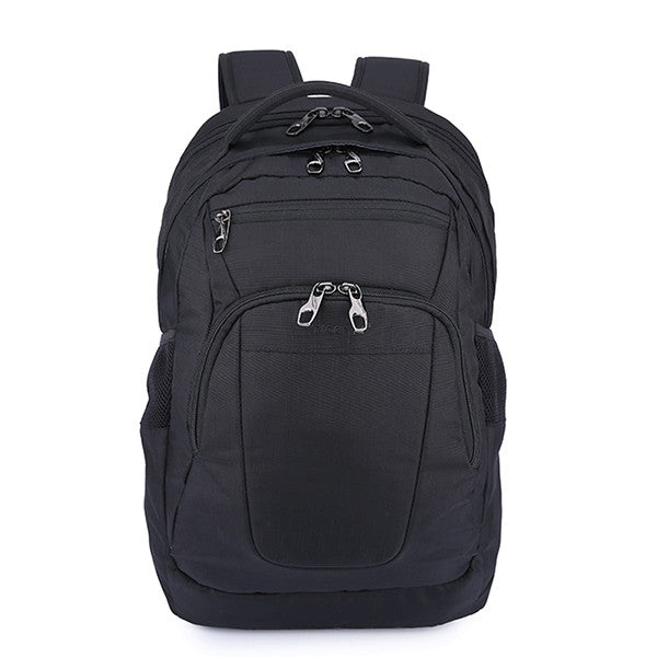 Waterproof Casual Solid Color Backpack - Zorket