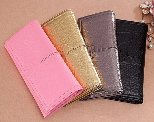 Wallet – Women's Genuine Leather Vintage Long Wallet | Zorket