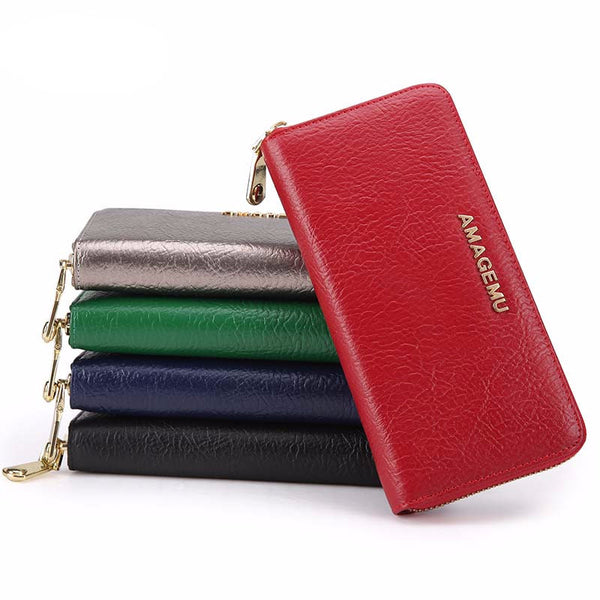 Wallet – Fashion Female Genuine Leather Wallet | Zorket