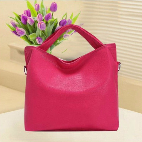 Handbag – Fashion Women's PU Leather Shoulder Handbag | Zorket