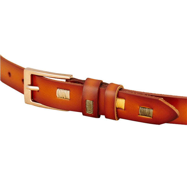 Belt – Luxury Women's Leather Pin Buckle Belt | Zorket