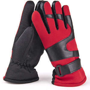 Winter PU Leather Gloves For Men's - Zorket