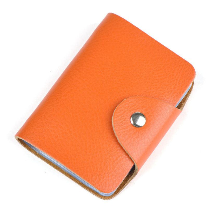 Fashion Vintage Genuine Leather Card Holder