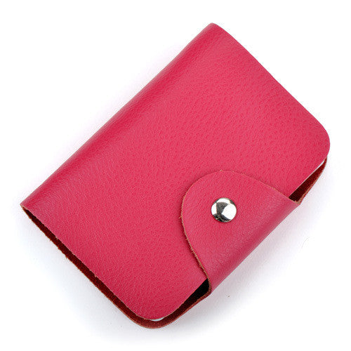 Card Holder – Fashion Vintage Genuine Leather Card Holder | Zorket