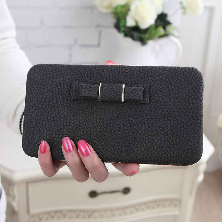 Women's Casual Fashion Long Wallet Luxury Card Money Phone Holder Large Capacity Purse