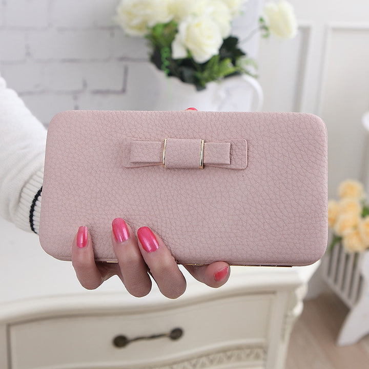 Women's Casual Fashion Long Wallet Luxury Card Money Phone Holder Large Capacity Purse - Zorket